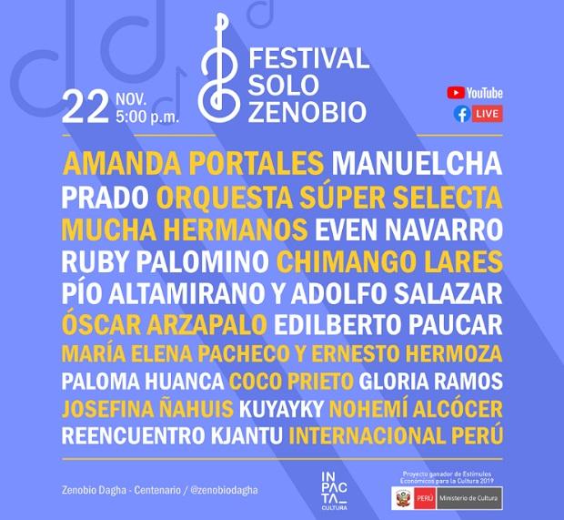 """Artistas y grupos se preparan para el homenaje por los 100 años de natalicio del recordado compositor de """"Yo soy huancaíno por algo"""", Zenobio Dagha Sapaico."""