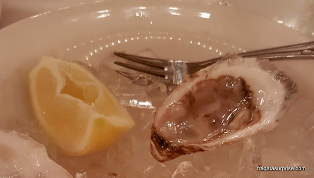 Ostras do The Oyster Bar, Nova York