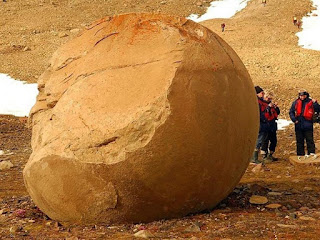 Giant Stone Spheres Discovered On Arctic Island Baffle Scientists.