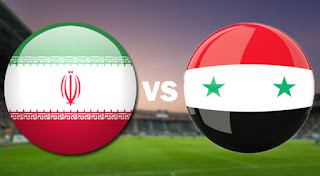 مشاهدة مباراة سوريا ضد ايران اليوم بث مباشر في مباراة ودية