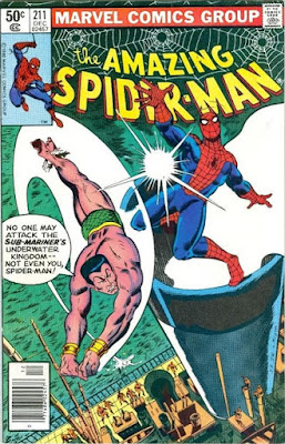 Amazing Spider-Man #211, the Sub-Mariner