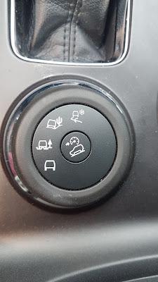 Ford Explorer Terrain Management System dial