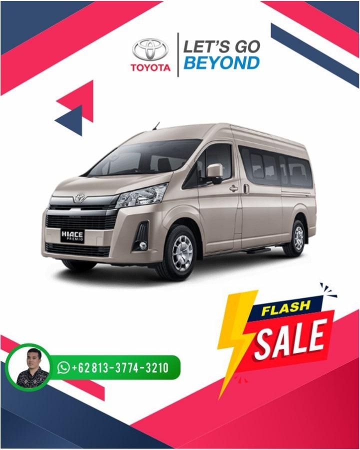 Harga Promo Toyota Hiace Bali