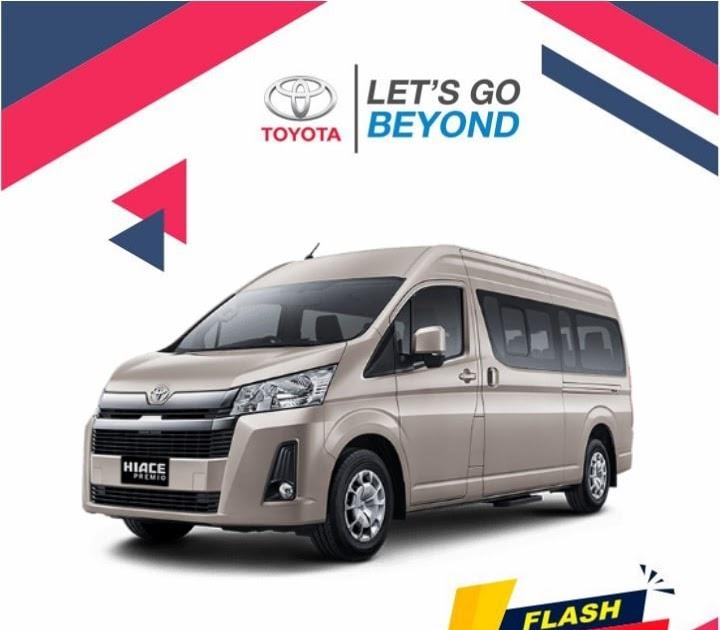Desain mengalir yang begitu menawan dengan sentuhan elegan dan. Harga & Promo Toyota Hiace Bali Terbaik 2021