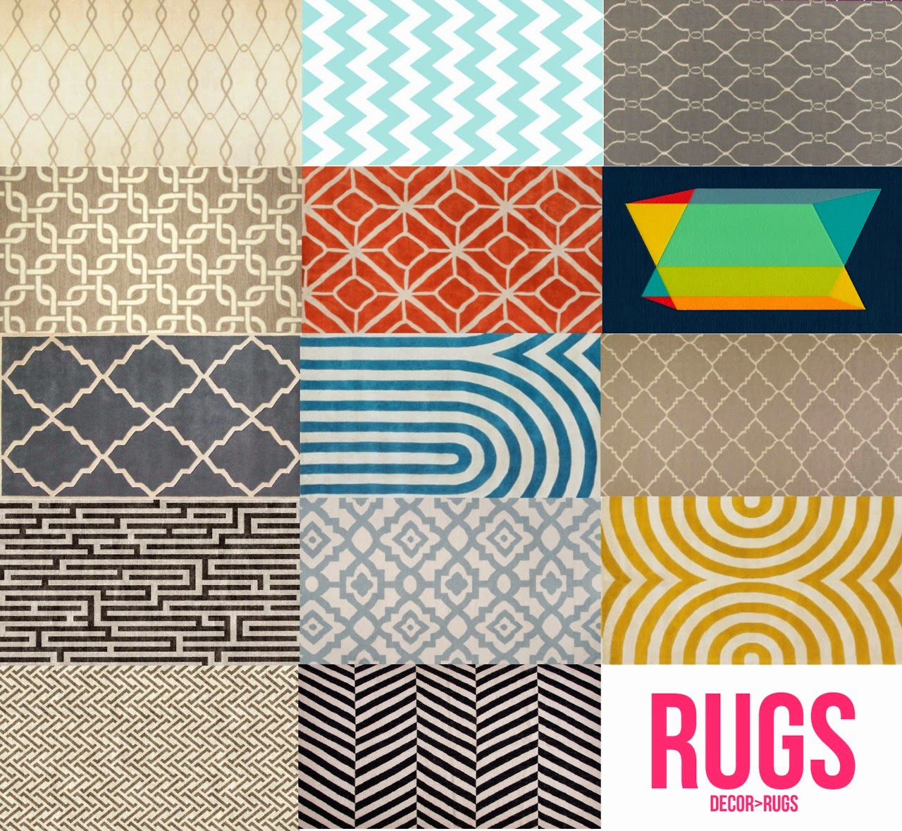 My Sims 3 Blog Geometric Pillows Rugs And Paintings By