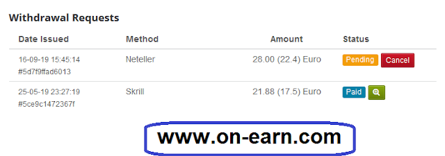 MPL 2nd Payment Proof