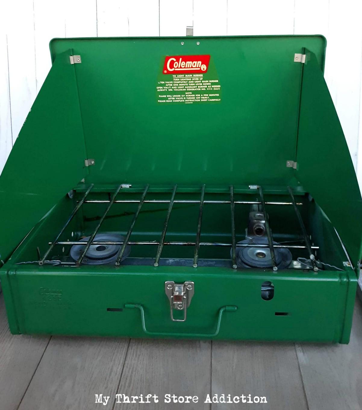vintage camp stove
