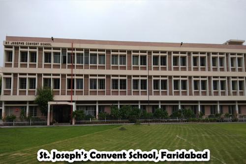 St. Joseph's Convent School, Faridabad