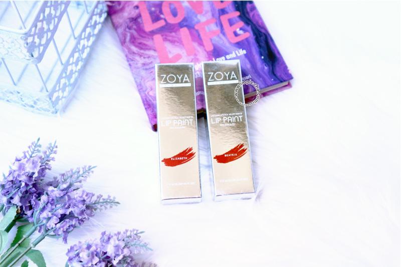 ZOYA Lip Paint Metallic