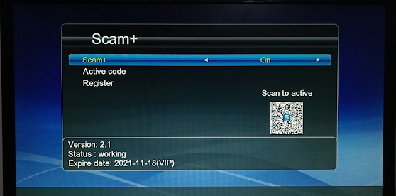 HELLOBOX 6 GX6605S NEW SOFTWARE WITH SCAM+ VERSION 2.1 & SUPPORT WIFI RT5370,MT7601