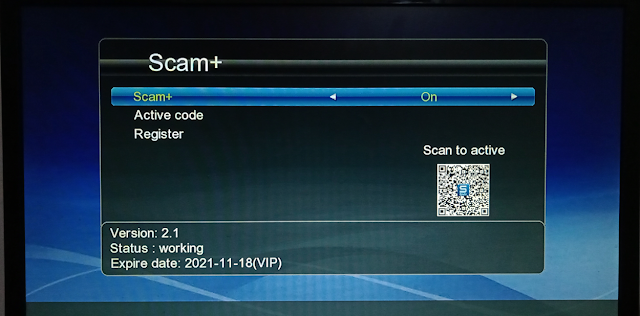 GX6605S HW203 NEW SOFTWARE WITH ONE YEAR FREE SCAM+ SERVER & SUPPORT WIFI RT5370,MT7601
