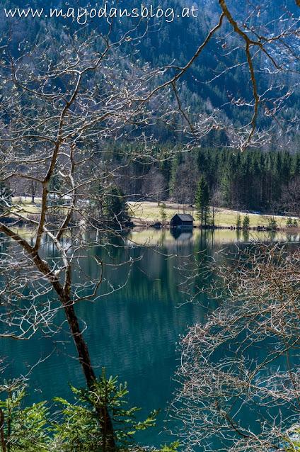 Bootshütte am Langbathsee