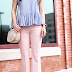 Blush and gingham