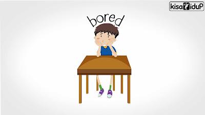 bosan di rumah