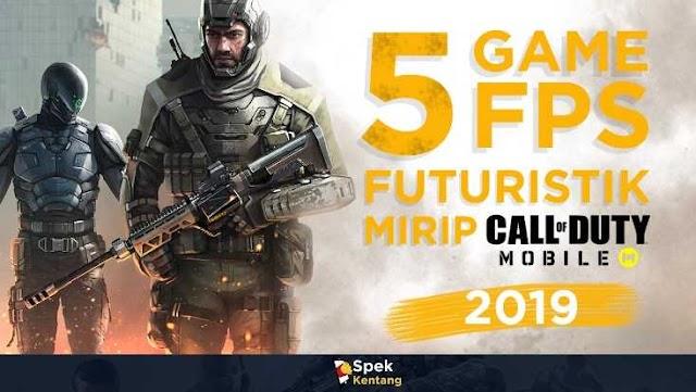 5 Game FPS Futuristik Mirip COD Mobile Terbaik di Android 2019