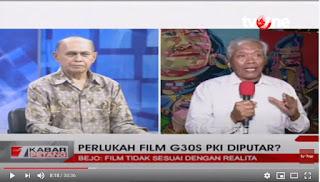 Bejo Untung Tolak Putar Film G30SPKI, Sebut Soeharto, CIA, dan TNI sebagai Dalang G30S