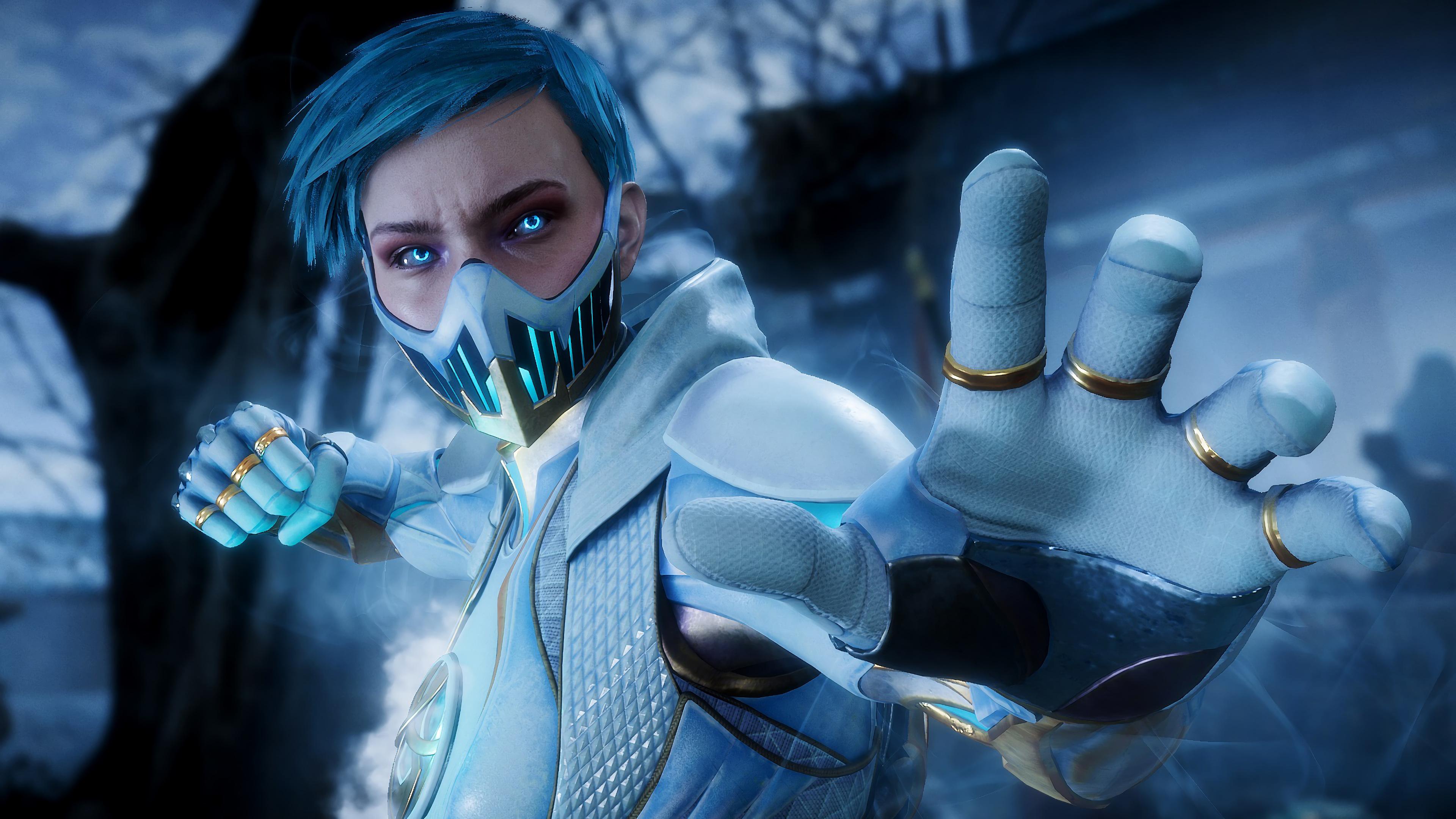 Frost Mortal Kombat 11 4K Ultra HD Mobile Wallpaper
