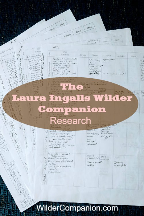 ONE Day to The Laura Ingalls Wilder Companion