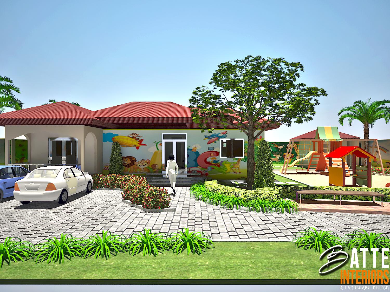 Interior Design Uganda Kindergarten And Day Care Design By