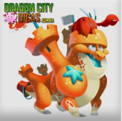 Dragão Castelo de Areia - Informações