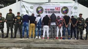 Ejército Nacional captura a un concejal de Andagoya y a  10 sujetos al servicio al ELN en Chocó.