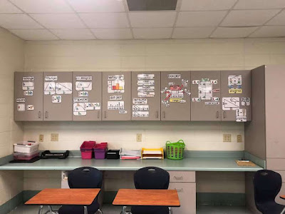 Ms. Cheek math word wall