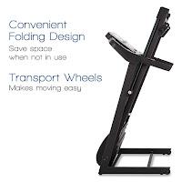 XTERRA Fitness TR150 Treadmill folding deck, image