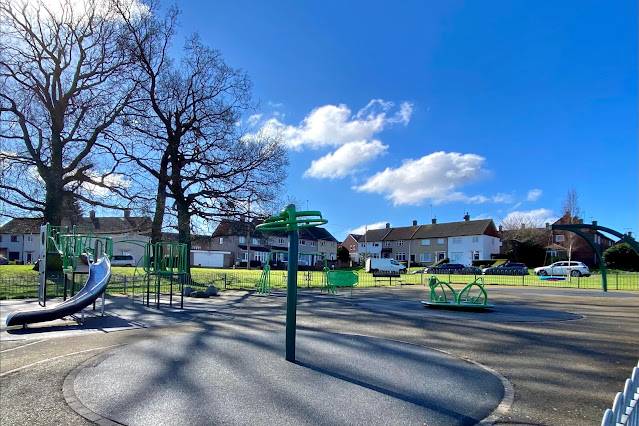 Westall Road Playground near St John Fisher and Thomas Willingale Primary Schools Loughton