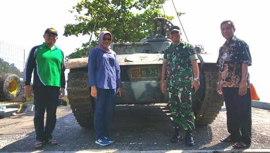 Tank Bersejarah Bekas Operasi Trikora Bakal Hiasi Wisata Pantai Padang