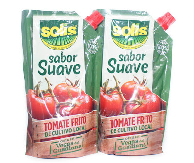 Solís tomate sabor suave
