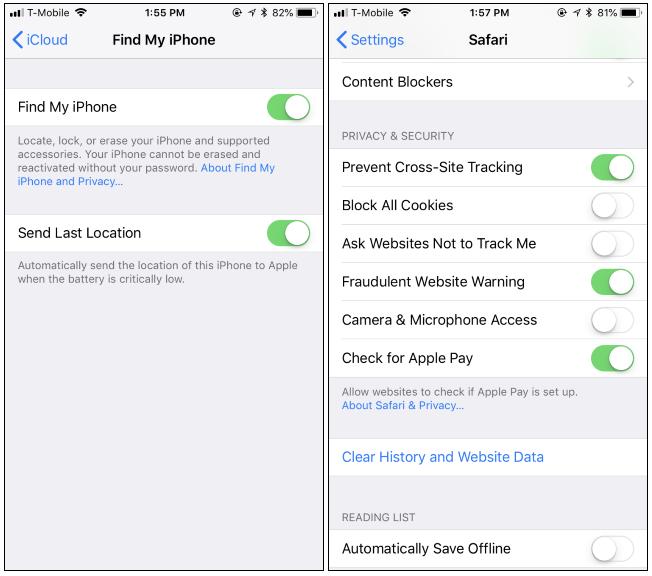 Come è già protetto il nostro iPhone