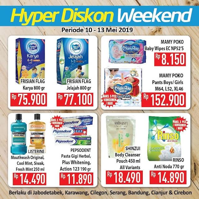 #Hypemart - #Promo #Katalog Weekend Periode 10 - 13 Mei 2019