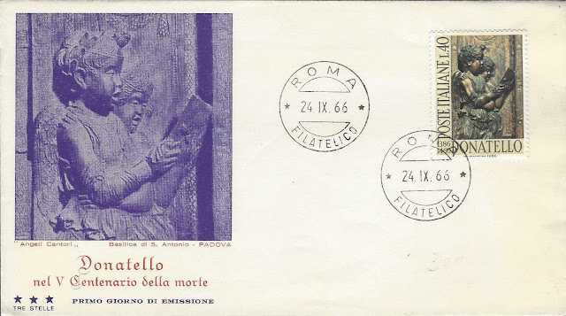 Donatello Italy FDC 1966