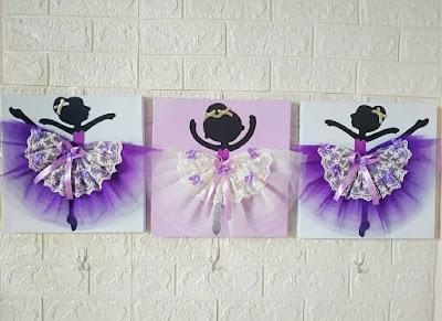 walldecor ballerina ungu ~ hello shabby : furniture