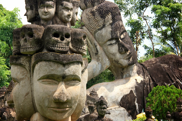 Buddha Park (Xieng Khuan Buddha Park) a Vientiane
