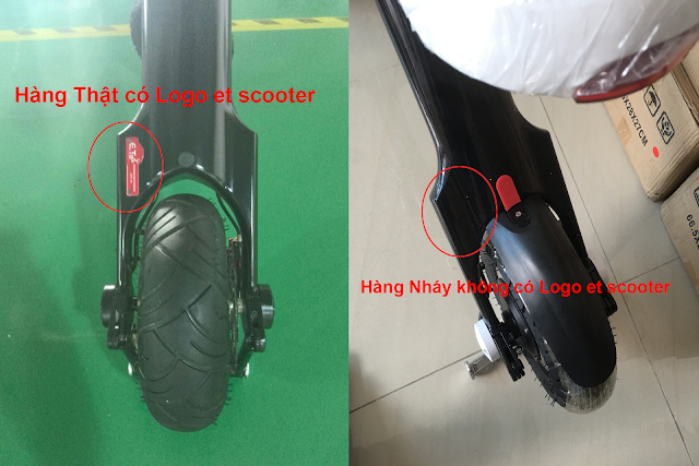 Xe điện xếp gọn et scooter chính hãng đức
