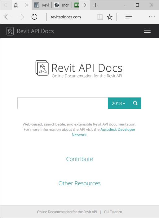 Revit Api Developer Guide 2018