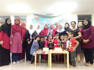 Farewell party di playschool lil' Iman