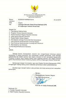Surat Edaran Menteri PANRB tentang Semua ASN Dilarang Main Pokemon GO
