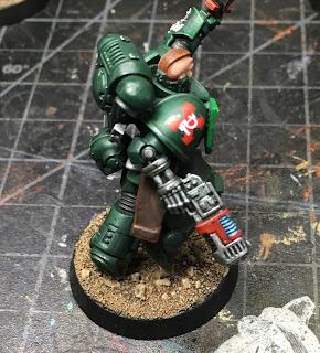 Dark Angels Assault Intercessor Sergeant WIP