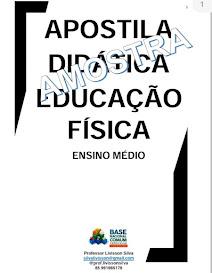 APOSTILA DIDÁTICA DE  EDUCAÇÃO FÍSICA ,ENSINO MÉDIO.