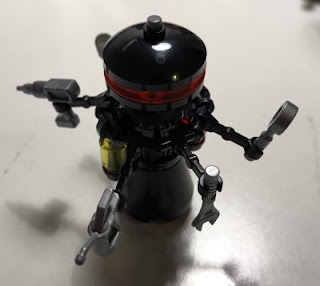 lego star wars 75183 darth vader transformation large medical droid minifigure