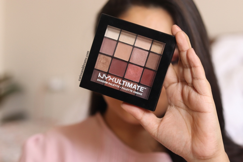 NYX Ultimate Shadow Palette in Warm Neutrals review, NYX Warm Neutrals Palette review, NYX Warm Neutrals Palette india