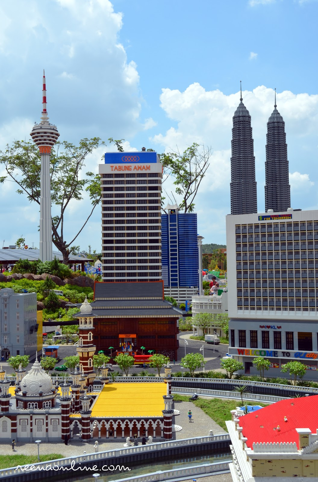 Reena's Online: Legoland Malaysia : Miniland