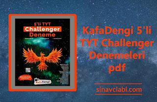 KafaDengi 5'li TYT Challenger Denemeleri pdf