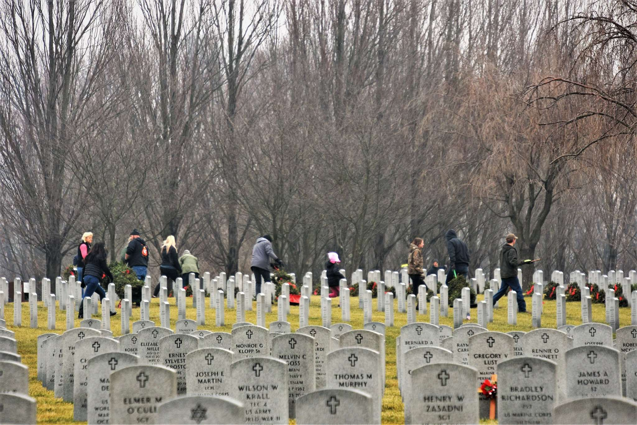 National Wreaths Across America Day Wishes Beautiful Image