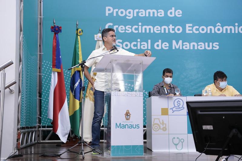 PACOTE DE AÇÕES | Prefeito David Almeida anuncia programa 'Mais Manaus' com  investimentos de R$ 1,2 bilhão e geração de 60 mil empregos
