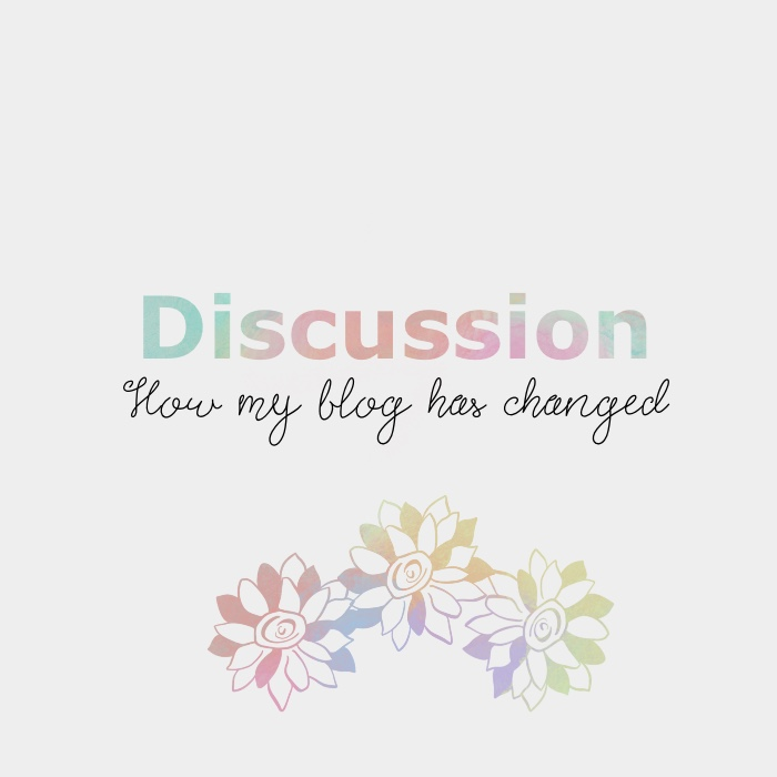 How my blog has changed