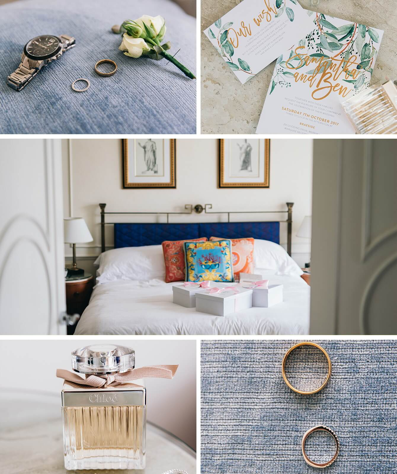 Classic Styled Botanical Themed Wedding - Samantha and Ben - World ...