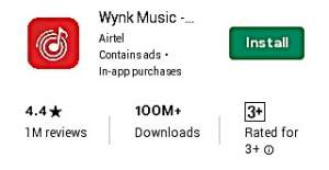 Airtel Wynk Music App Free Hello tunes Download From Play Store